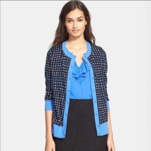 Kate Spade Geometric Button Cardigan